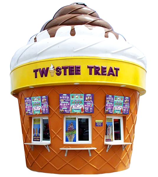 Twistee Treat Building