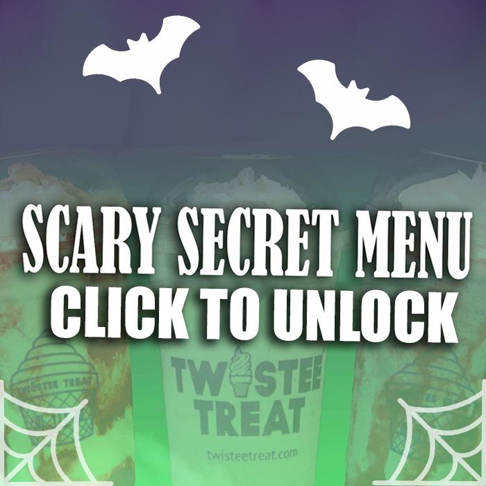 Scary Secret Halloween Menu