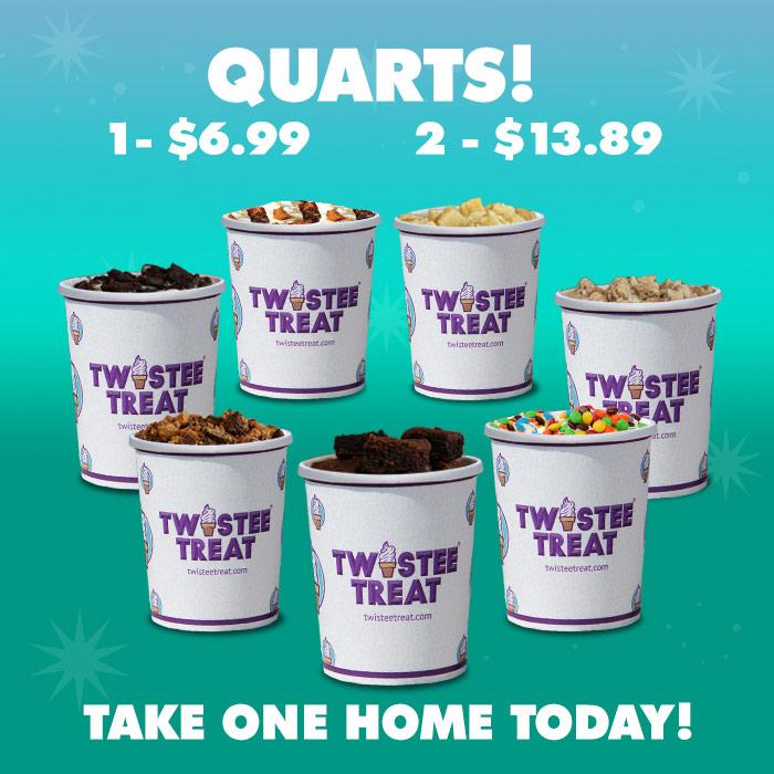 Ice Cream Quarts